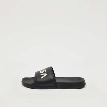 حذاء خفيف بارز الملمس بأشرطة بطبعات ناسا