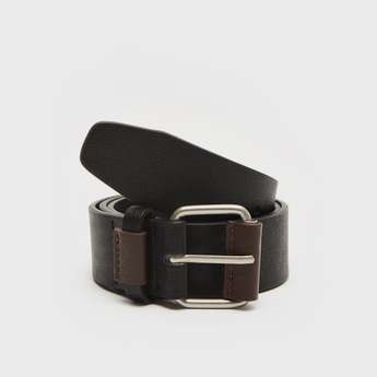Solid Belt with Buckle Closure