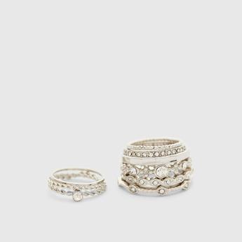 Set of 9 - Assorted Finger Rings