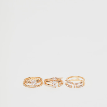 Set of 6 - Assorted Finger Ring