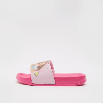 Barbie Print Open Toe Beach Slippers