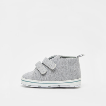 Solid Booties with Hook and Loop Closure