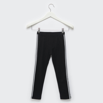 Solid Jeggings with Side Tape Detail