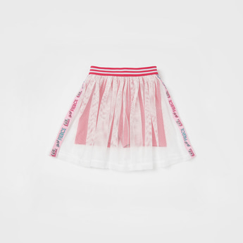 L.O.L. Surprise! Mesh Detail A-line Skorts with Elasticised Waistband