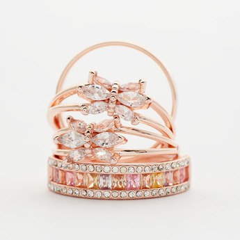 Set of 4 - Assorted Rings