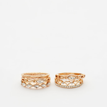 Set of 5 - Assorted Finger Ring