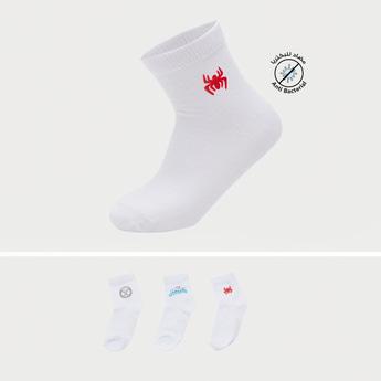 Pack of 3 - Marvel Themed School Socks with Elasticised Hem