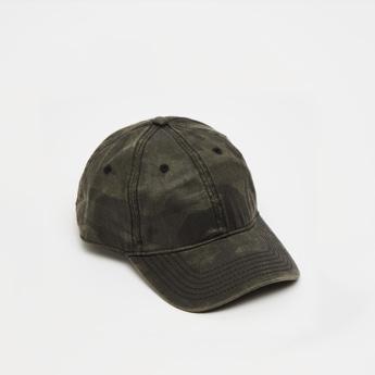 قبعة قابلة للتعديل بطبعات مموهة