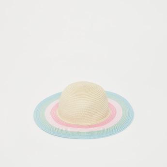 قبعة مستديرة بارزة الملمس