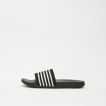 Striped Beach Slides