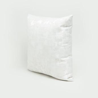 وسادة محشوة بارزة الملمس بسحّاب إغلاق - 43x43 سم