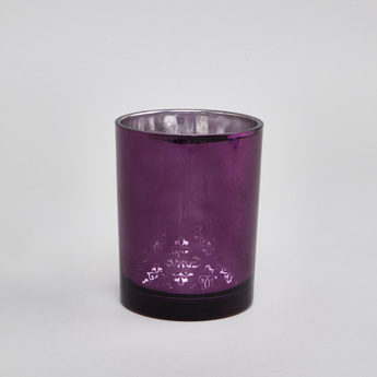 Cylindrical Candle Holder - 10 cms