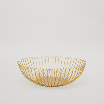 Decorative Metal Basket - 32 cms