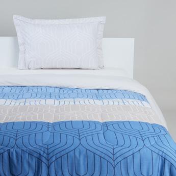 Printed Cotton 2-Piece Comforter Set - 160x220 cms