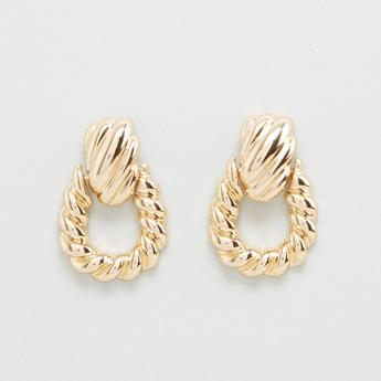 Twisted Rope Design Earrings