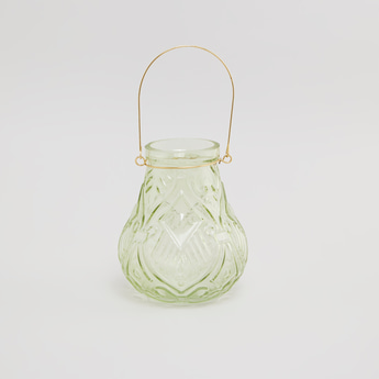 Textured Lantern with Handle