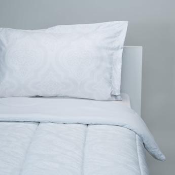 Textured 3-Piece Single Comforter Set - 220x160 cms
