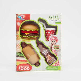 مجموعة ألعاب مطبخ من هابي فاميلي