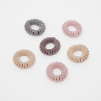 Set of 6 - Textured Hair Tie