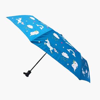 مظلة بطبعات يونيكورن بألوان مغايرة