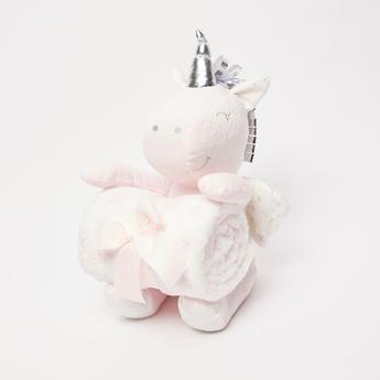 Star Print Infant Blanket - 100x75 cms