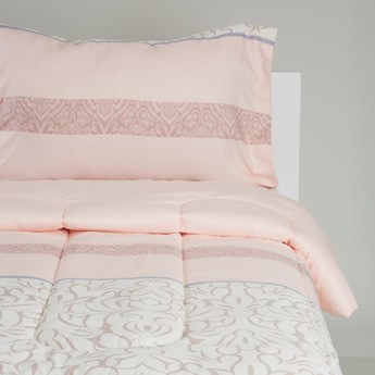 Printed 2-Piece Comforter Set - 230x220 cms