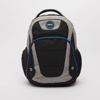 Printed Backpack with Adjustable Shoulder Straps