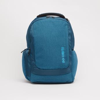 Solid Backpack with Adjustable Shoulder Straps - 18 Inches