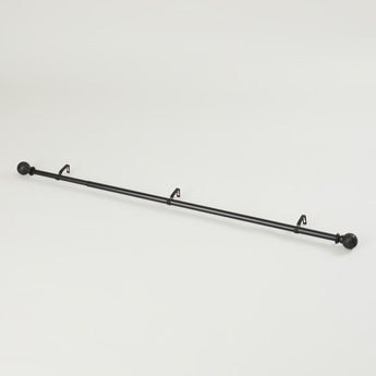 Single Drape Curtain Rod - 212x122 cms