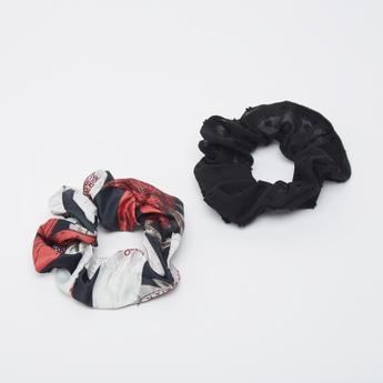 Set of 2 - Printed Hair Ties
