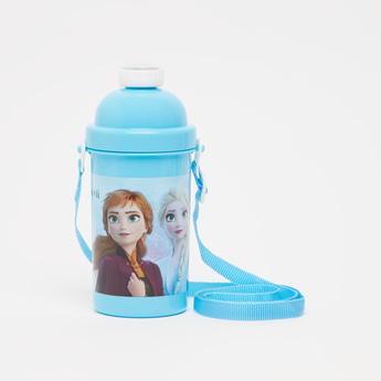 Frozen Print Water Bottle - 500 ml