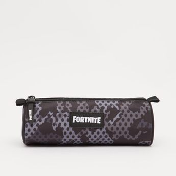 Fortnite Print Pencil Case with Zip Closure