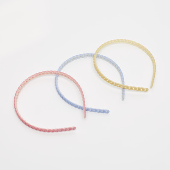 Set of 3 - Textured Hair Band