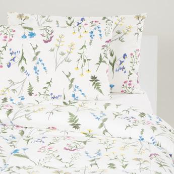 Floral Print 3-Piece Comforter Set