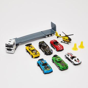 مجموعة ألعاب سيّارة