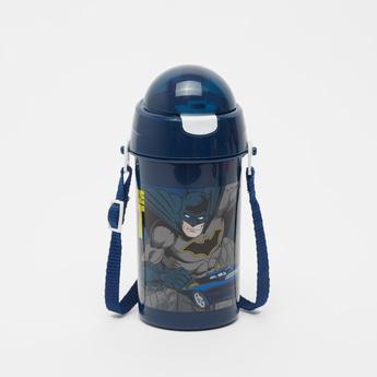 قارورة مياه بطبعات باتمان مع حزام - 500 مل