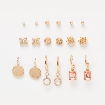 Set of 9 - Assorted Earrings