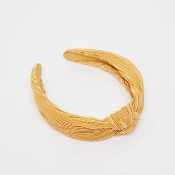 Pleat Detail Hair Band