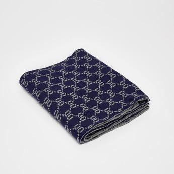 Geometric Print Woolen Scarf