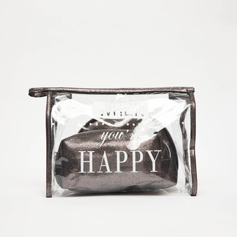 Set of 3 - Zippered Pouches