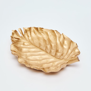 Leaf Shaped Decor Plate