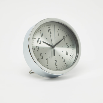 Round Analog Table Clock