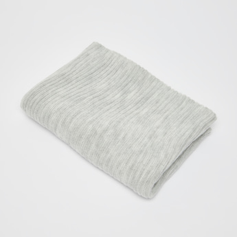 Ribbed Textured Scarf
