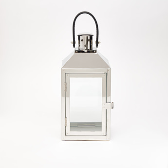 Lantern with Glass Panels