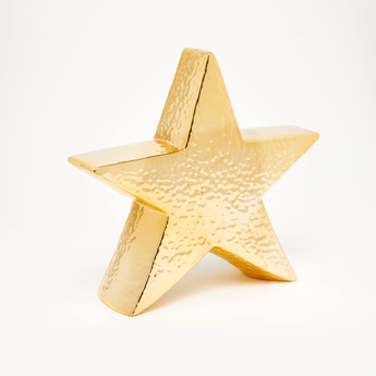Textured Star Shaped Decor