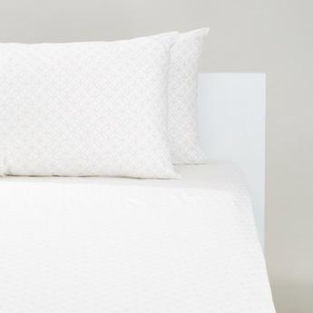 طقم مفروشات سرير فردي 3 قطع بطبعات - 200x150 سم
