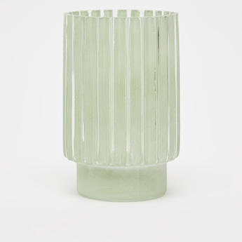 Decorative Vase with Pattern and Round Base