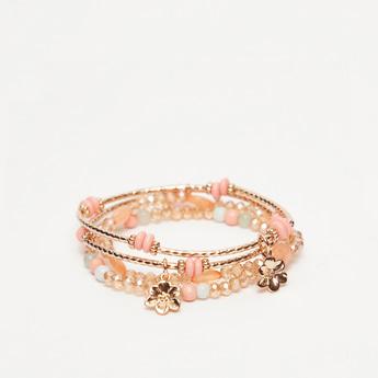 Set of 4 - Embellished Bracelet