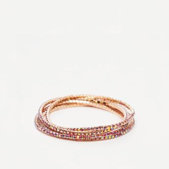 Set of 5 - Studded Bracelet