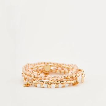 Set of 7 - Beaded Bracelets
